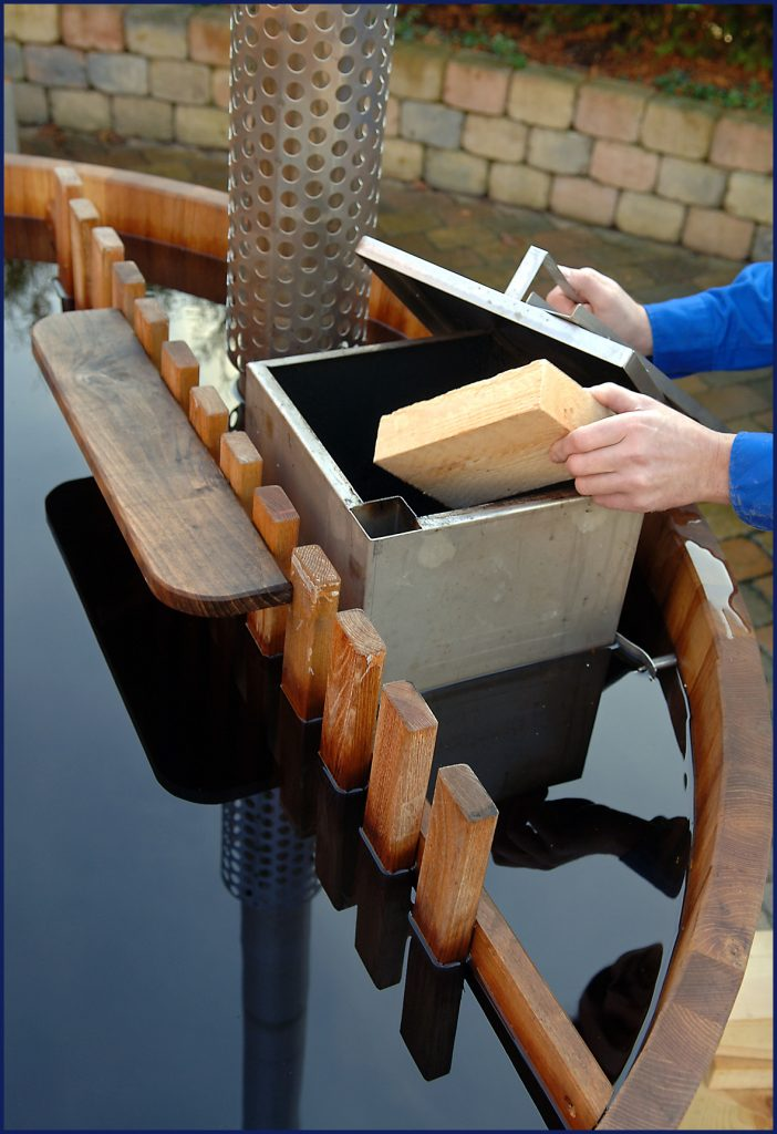 fyring i rustfri ovn - skovtrup