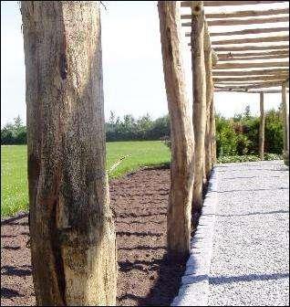 pergola pæle - havesti