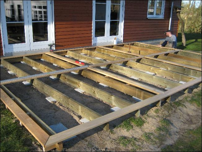 terrasse fundament lav selv