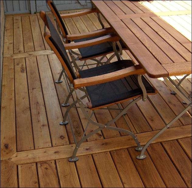 oliebehandlede terrasse planker