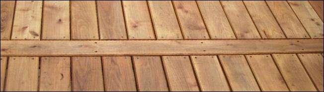 terrasse planker i robinie trae