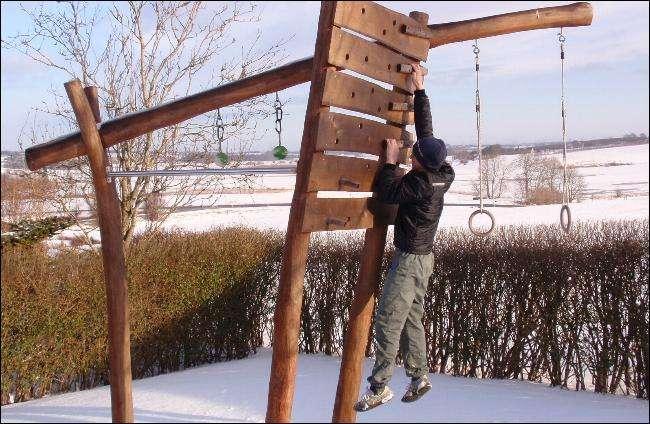 udendoers fitnessredskab til haven
