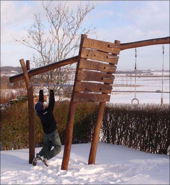 udendoers fitness redskaber i haven