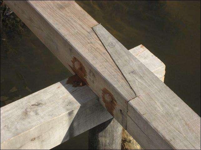 samle detalje af bro