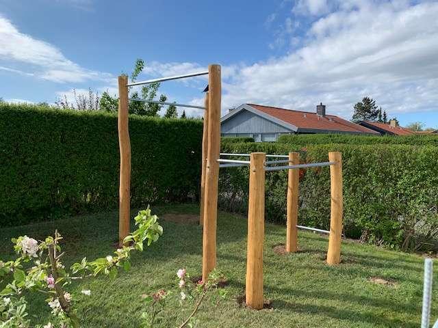Træningsstativ til haven