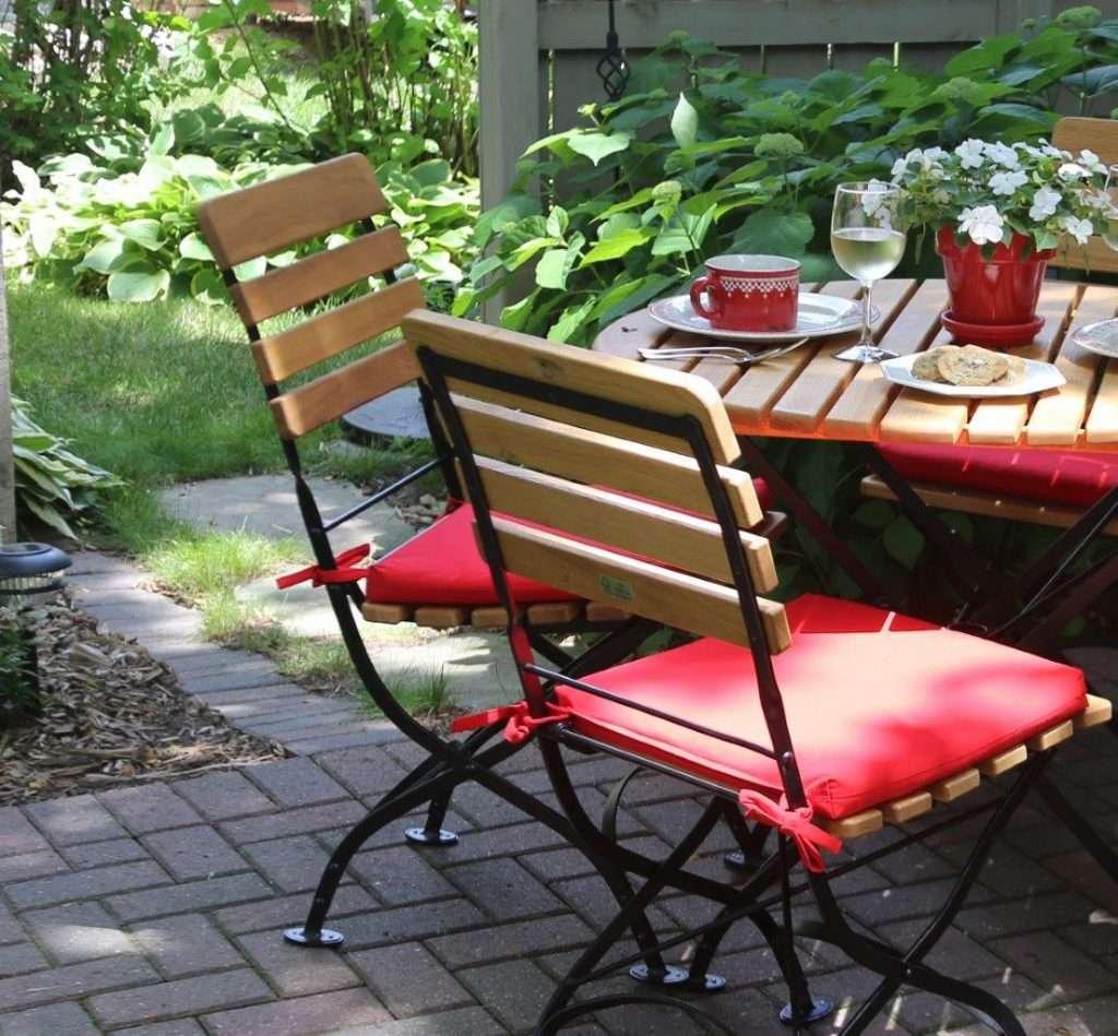 havemøbel - cafemøbler stol